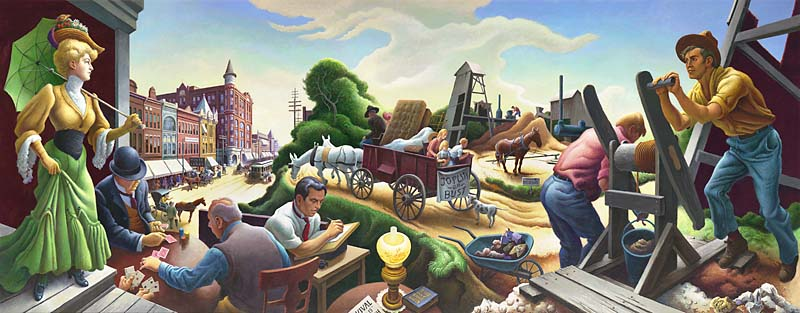 The Thomas Hart Benton Mural