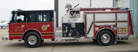 Joplin Fire - Engine 8