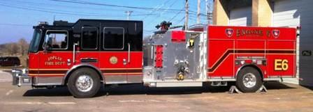 Joplin Fire - Engine 6