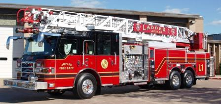 Joplin Fire - Ladder 1