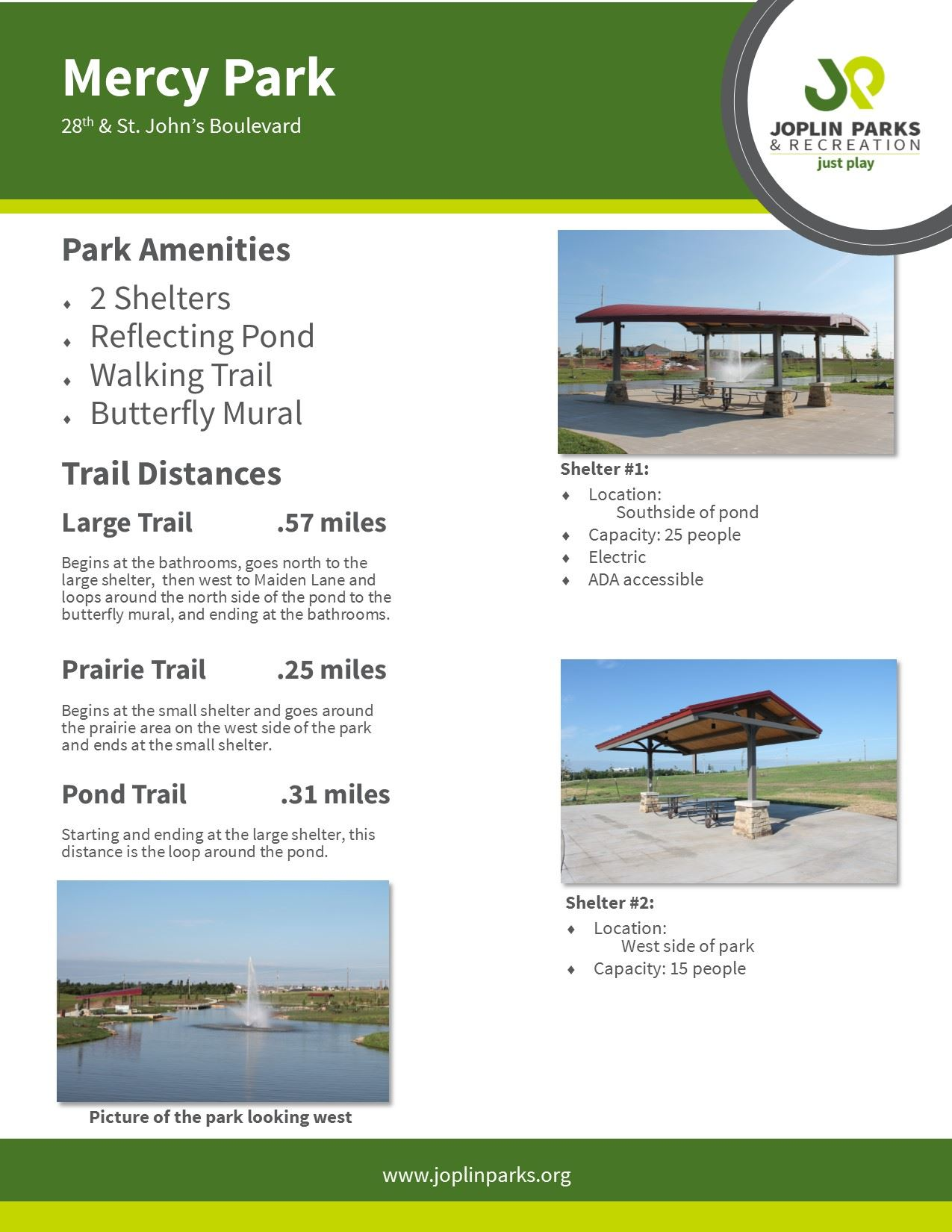 Mercy Park Fact Sheet