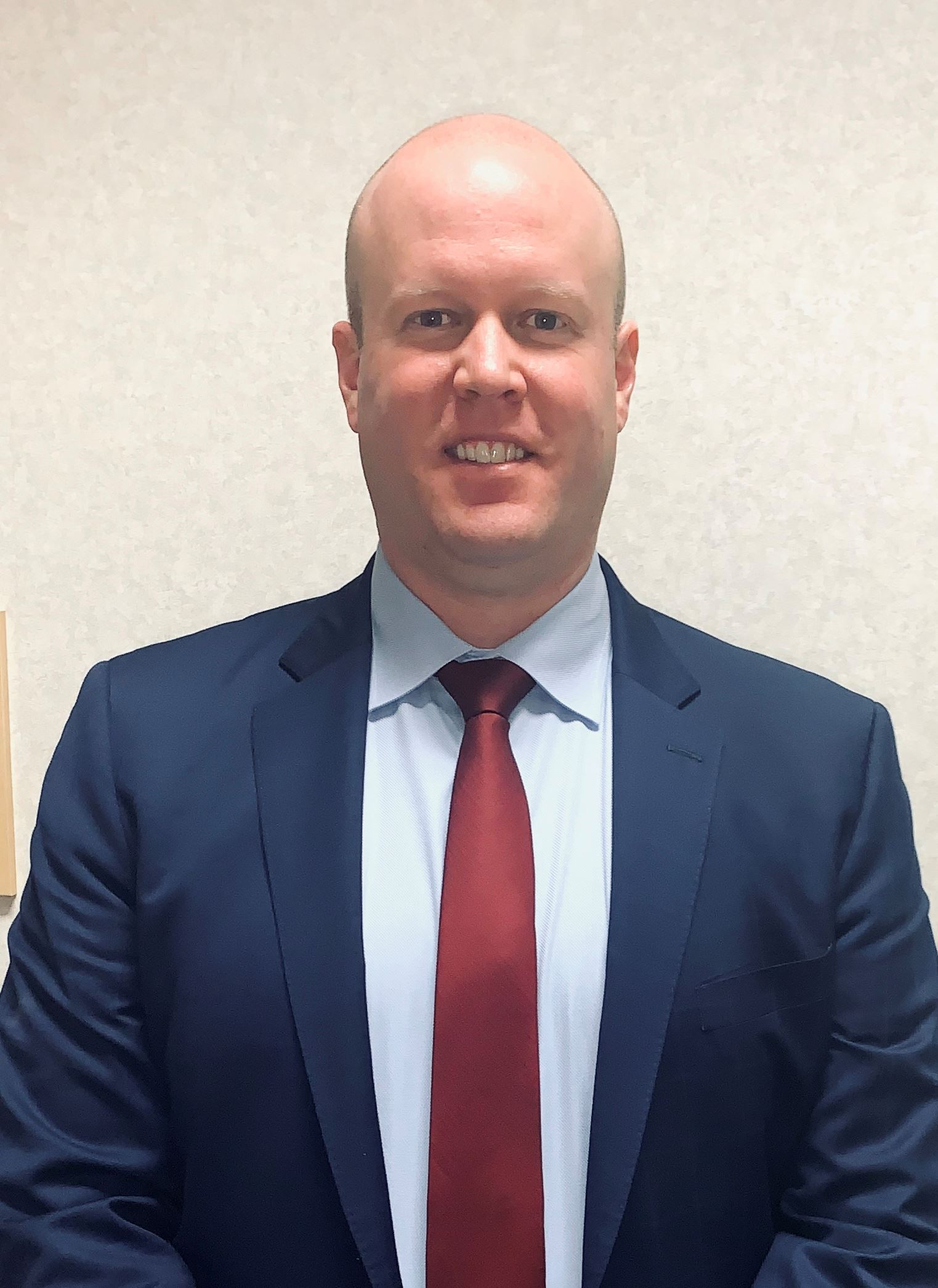 Picture of City's New City Manager Nick Edwards, announced Feb. 26, 2020