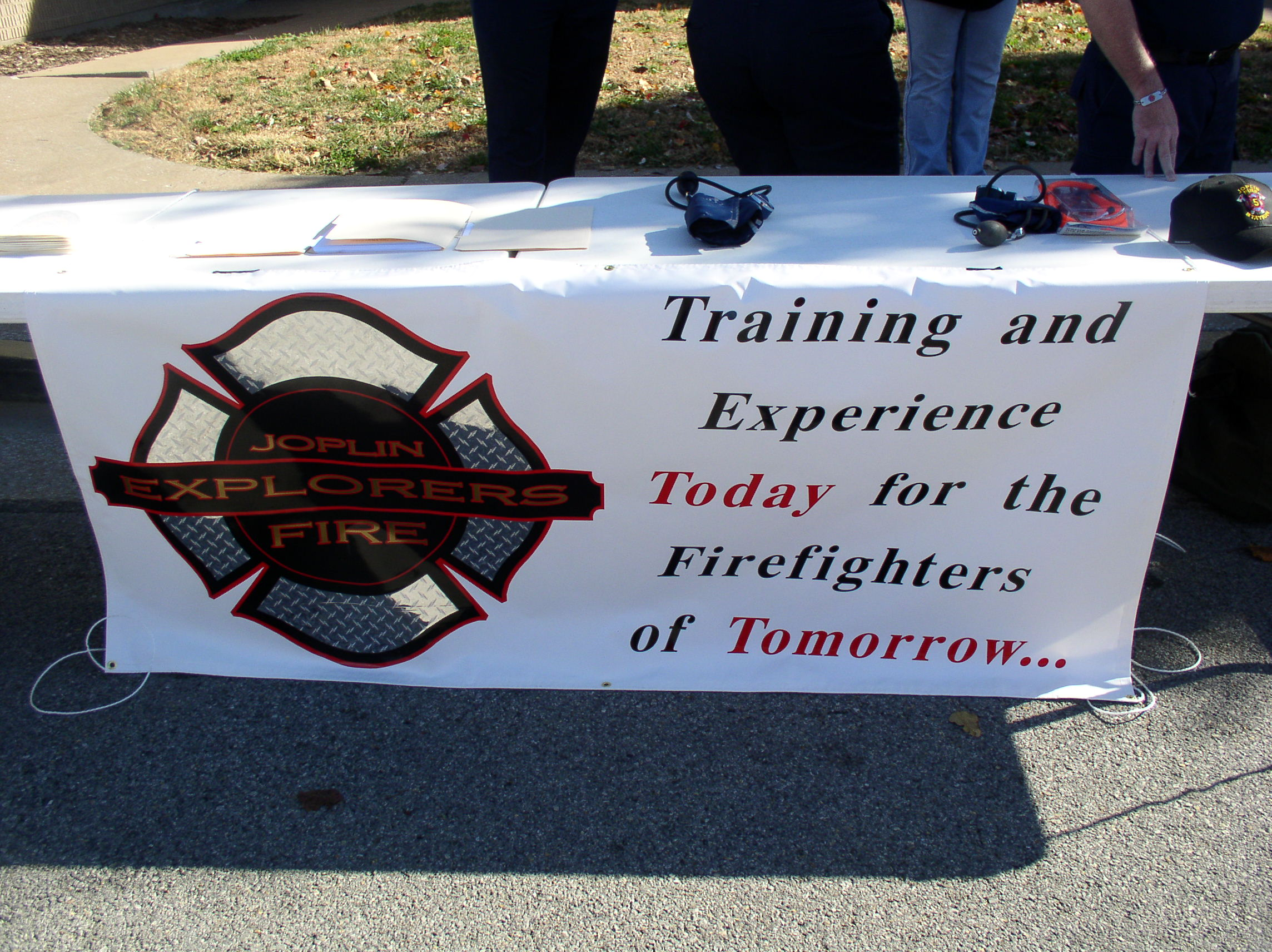 Joplin Fire Explorer's Table Banner