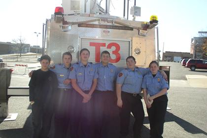 Joplin Fire Explorers with Truck 3