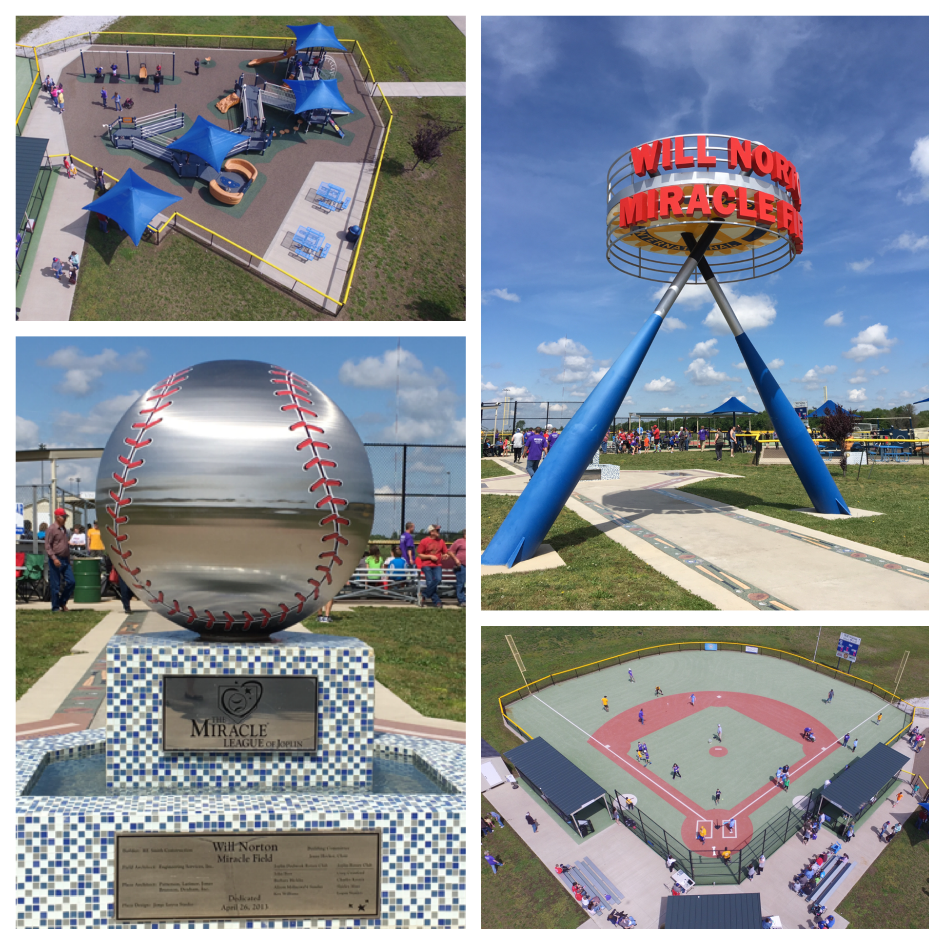 Miracle Field Collage